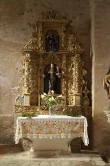 Eglise Saint-Saturnin - English: ref: PM_046999_F_Boule_d_Amont; Boule d'Amont; église paroissiale Saint-Saturnin; Languedoc-Roussillon, Pyrénées-Orientales; France; Autel baroque; Cultural heritage; Cultural heritage/Baroque; Europe; Europe/France; Europe/France/Boule d'Amont; France; Wiki Commons; Photographer: Paul M.R. Maeyaert; www.pmrmaeyaert.eu; © Paul M.R. Maeyaert; pmrmaeyaert@gmail.com;