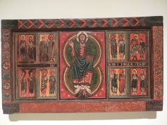 Eglise Saint-Martin de Hix - Català: Frontal d'altar d'Ix
