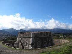 Fort carré et tour de l'Etoile -  Fort Carré, Cotlliure (novembre 2012)