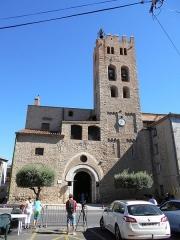 Eglise paroissiale Sainte-Eulalie et Sainte-Julie - Català: Façana meridional de Santa Eulàlia