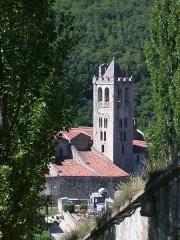 Eglise Saint-Juste-et-Sainte-Ruffine -  prats de mollo, holiday photo 2005, Collieman