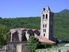 Eglise Saint-Juste-et-Sainte-Ruffine - English: Prats de Mollo, Pyrénées-Orientales, France: Saint-Juste-et-Sainte-Ruffine church.