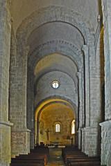 Eglise Saint-André de Sorède - Deutsch: St-André-de-Sorède, Schiff zum Chor