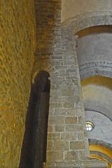 Eglise Saint-André de Sorède - Deutsch: St-André-de-Sorède, nördl- Pfeiler im Schiff