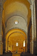 Eglise Saint-André de Sorède - Deutsch: St-André-de-Sorède, Vierung und Chor