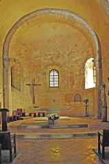 Eglise Saint-André de Sorède - Deutsch: St-André-de-Sorède, Chor