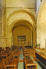 Eglise Saint-André de Sorède - Deutsch: St-André-de-Sorède, aus Vierung in nördl. Querhausarm