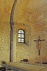 Eglise Saint-André de Sorède - Deutsch: St-André-de-Sorède, Chor Nordseite