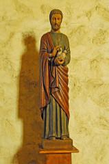 Eglise Saint-André de Sorède - Deutsch: St-André-de-Sorède, Statue
