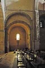Eglise Saint-André de Sorède - Deutsch: St-André-de-Sorède, aus Vierung in südl. Querhausarm