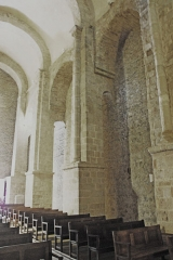 Eglise Saint-André de Sorède - Deutsch: St-André-de-Sorède, Schiff Nordwand