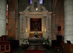 Eglise Saint-André - Français:   Intérieur de l\'église Saint-André, Angoulême, Charente, France.