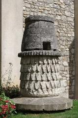 Eglise Saint-André - Français:   Vestiges d\'une cheminée médiévale du palais Taillefer (XIIe siècle), Angoulême, Charente, France.