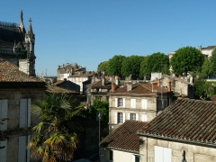 Remparts - English: View from Rempart de l'Est (eastern city wall) in Angoulême, South-West of France