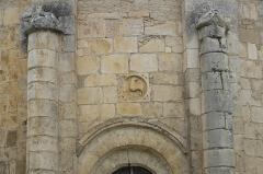 Eglise Saint-Nicolas - Deutsch: Ehemalige Abteikirche Saint-Nicolas in Cellefrouin im Département Charente (Nouvelle-Aquitaine/Frankreich), Relief