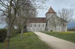 Eglise Saint-Denis - Deutsch: Katholische Kirche Saint-Denis in Lichères im Département Charente (Nouvelle-Aquitaine/Frankreich)