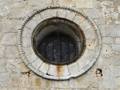 Eglise Saint-Martin - Français:   Une rosace de l\'église Saint-Martin, Marthon, Charente, France
