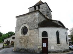 Eglise Saint-Martin - Français:   L\'église Saint-Martin, Marthon, Charente, France
