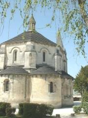Eglise Saint-Michel -  Eglise romane de St Michel d'Entraygues, Charente, France