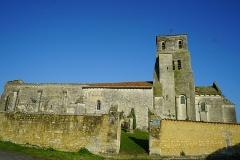Eglise Saint-Pierre - Français:   vue de l\'Église Saint-Pierre de Bougneau.