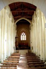 Eglise Saint-Martin - Deutsch:   Chadenac, St.-Martin, Schiff, Vierung und Chor
