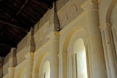 Eglise Saint-Martin - Deutsch:   Chadenac, Schiff, Nordwand