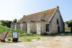 Citadelle et fortifications - Poudrière de la citadelle du Château-d'Oléron (Charente-Maritime, Nouvelle-Aquitaine, France).