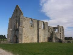 Ancienne abbaye Notre-Dame de Ré, dite des Châteliers -  L'Abbaye Notre-Dame-de-Ré (Ile de Ré, Poitou, France).