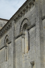 Eglise Saint-Herie - Deutsch: Katholische Kirche St-Hérie in Matha im Département Charente-Maritime (Nouvelle-Aquitaine/Frankreich)