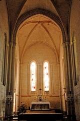 Eglise Saint-Pierre - Deutsch: St-Pierre de Pont-l'Abbé-d'Arnoult (17), Chor
