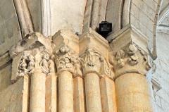 Eglise Saint-Pierre - Deutsch: St-Pierre de Pont-l'Abbé-d'Arnoult (17), Pfeilerbündel Vierung / Chor