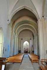Eglise Saint-Pierre - Deutsch: St-Pierre de Pont-l'Abbé-d'Arnoult (17), Schiff aus dem Chor
