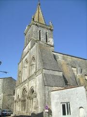 Eglise Saint-Pierre - Français:   Eglise de Pont-l\'abbé-d\'Arnoult