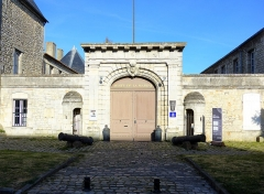 Ancien Hôtel de Cheusse, dit Hôtel de l'Intendance maritime - Français:   Entrée du musée.