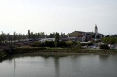 Gare -  Canal de Marans à La Rochelle et gare de la Rochelle