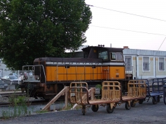 Gare -  Old SNCF engine