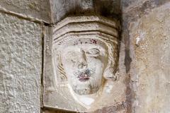 Tour Saint-Nicolas - Tour Saint-Nicolas: Culs-de-lampe. La Rochelle (Charente-Maritime, Nouvelle-Aquitaine, France).