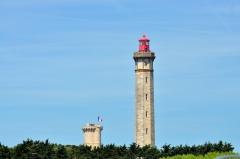 Vieux Phare des Baleines et phare des Baleineaux -  El Faro de las Ballenas (Isla de Ré, Francia)