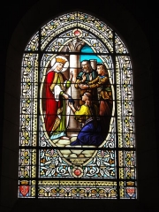 Ancienne abbaye Saint-Jean-Baptiste - English:   Église Saint-Jean-Baptiste de Saint-Jean-d\'Angély, vitrail 07