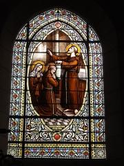 Ancienne abbaye Saint-Jean-Baptiste - English:   Église Saint-Jean-Baptiste de Saint-Jean-d\'Angély, vitrail 08