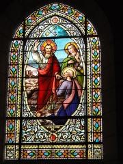 Ancienne abbaye Saint-Jean-Baptiste - English:   Église Saint-Jean-Baptiste de Saint-Jean-d\'Angély, vitrail 11