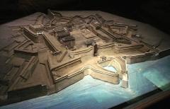 Citadelle et fortifications - English: Saint-Martin-de-Ré citadel, built by Vauban in 1681