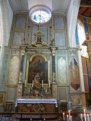 Eglise Saint-Martin dite Le Grand Fort - Français:   Chapelle Sainte Radegonde; Intérieur de l\'église Saint-Martin de Saint-Martin-de-Ré; Île de Ré, France