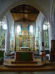 Eglise Saint-Martin dite Le Grand Fort - Français:   Maître-Autel; intérieur de l\'église Saint-Martin de Saint-Martin-de-Ré; Île de Ré, France