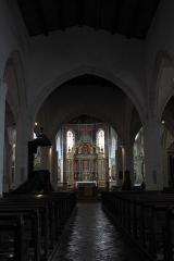 Eglise Saint-Martin dite Le Grand Fort - Deutsch: Katholische Pfarrkirche Saint-Martin in Saint-Martin-de-Ré auf der Île de Ré im Département Charente-Maritime (Nouvelle-Aquitaine/Frankreich), Innenraum