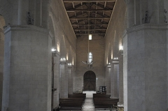 Eglise Notre-Dame - Deutsch: Katholische Kirche Notre-Dame-de-l'Assomption in Surgères im Département Charente-Maritime (Nouvelle-Aquitaine/Frankreich), Innenraum