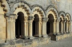 Ruines de l'ancienne abbaye - Deutsch: Abtei Trizay, Kapitelsaal v. West