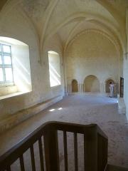 Ruines de l'ancienne abbaye - Français:   Réfectoire des moines. Prieuré de Trizay, Charente-Maritime (17), France, Europe.