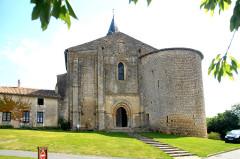 Eglise Notre-Dame - Deutsch:   Câteau-Larcher, Kirche mit Wehrturm