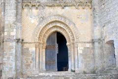 Eglise Notre-Dame - Deutsch:   Château-Larcher, Kirche, Fassade, Mittelteil, Erdgeschoss